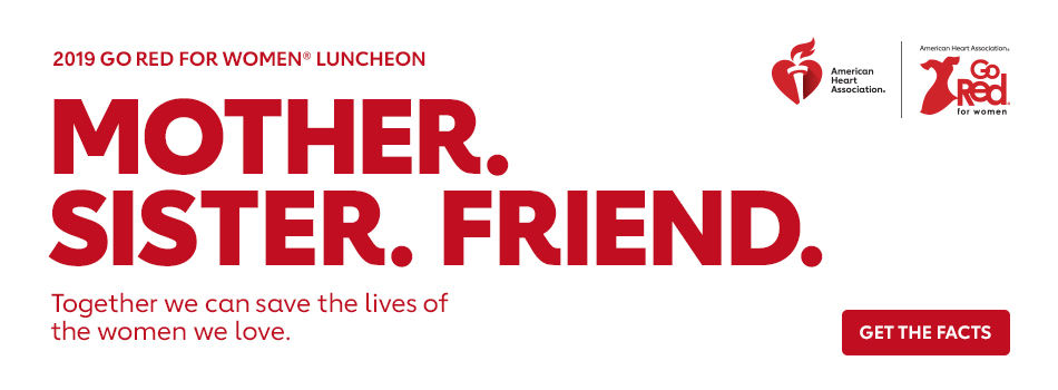 2019 Go Red For Women Luncheon